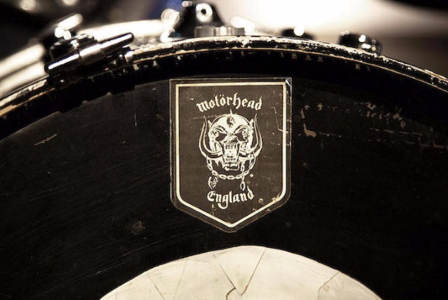 MOTÖRHEAD Drummer PHIL 'PHILTHY ANIMAL' TAYLOR's Kit Up For Auction