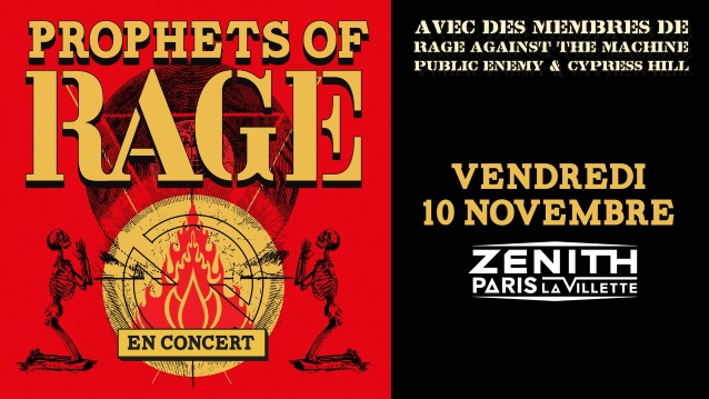 PROPHETS OF RAGE: Pro-Shot Footage Of Entire Paris Concert