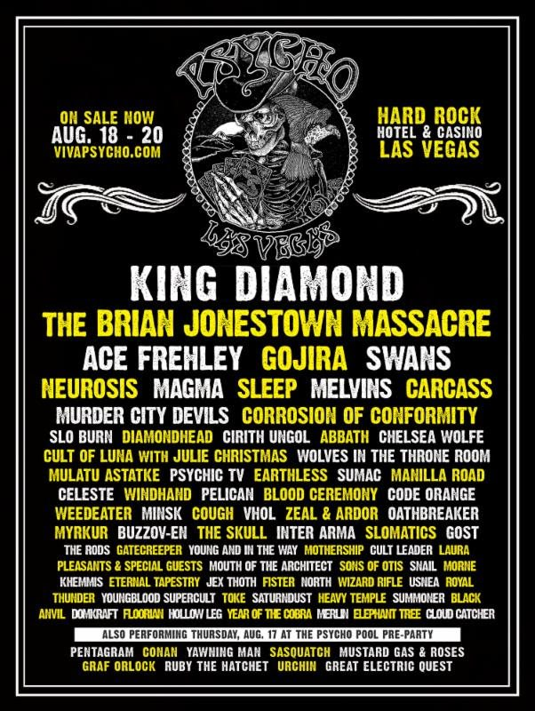 Ace Frehley Corrosion Of Conformity Gojira Others Added