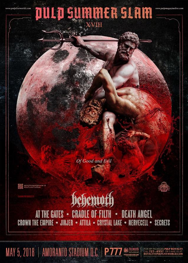 2e5baaf134f3 Behemoth Debuts New Song  Wolves Ov Siberia  At Pulp Summer Slam ...