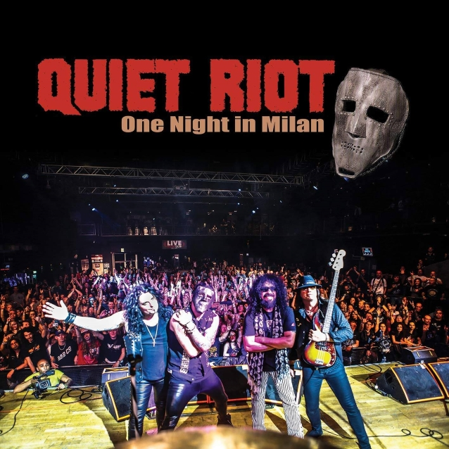 Quiet Riot To Release 'one Night In Milan' Cd/dvd And Blu-ray In January