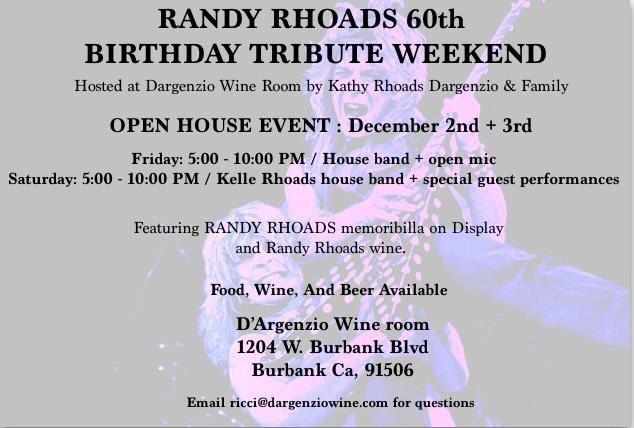 randyrhoads60thbirthdaytributeposter