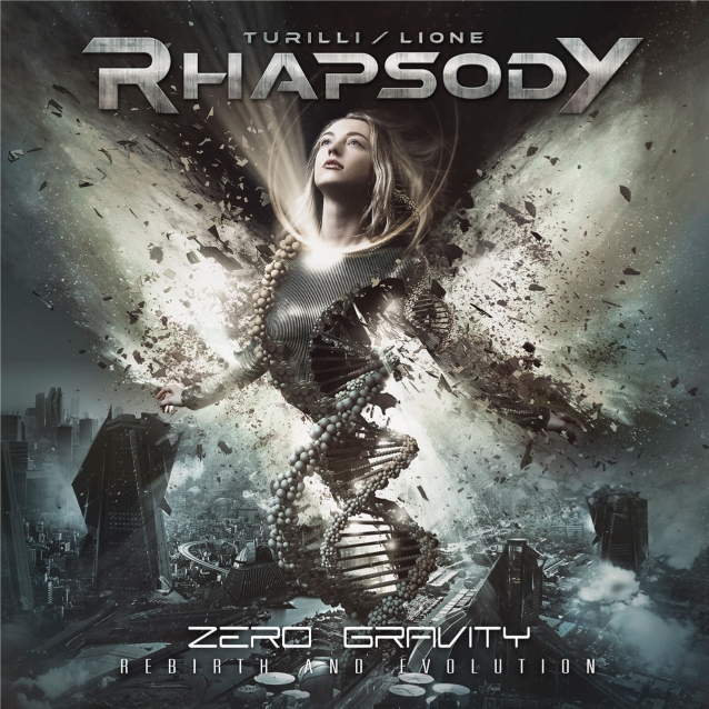 TURILLI/LIONE RHAPSODY - Zero Gravity (Rebirth And Evolution) 28 juin 2019 Rhapsodyzerogravitycd