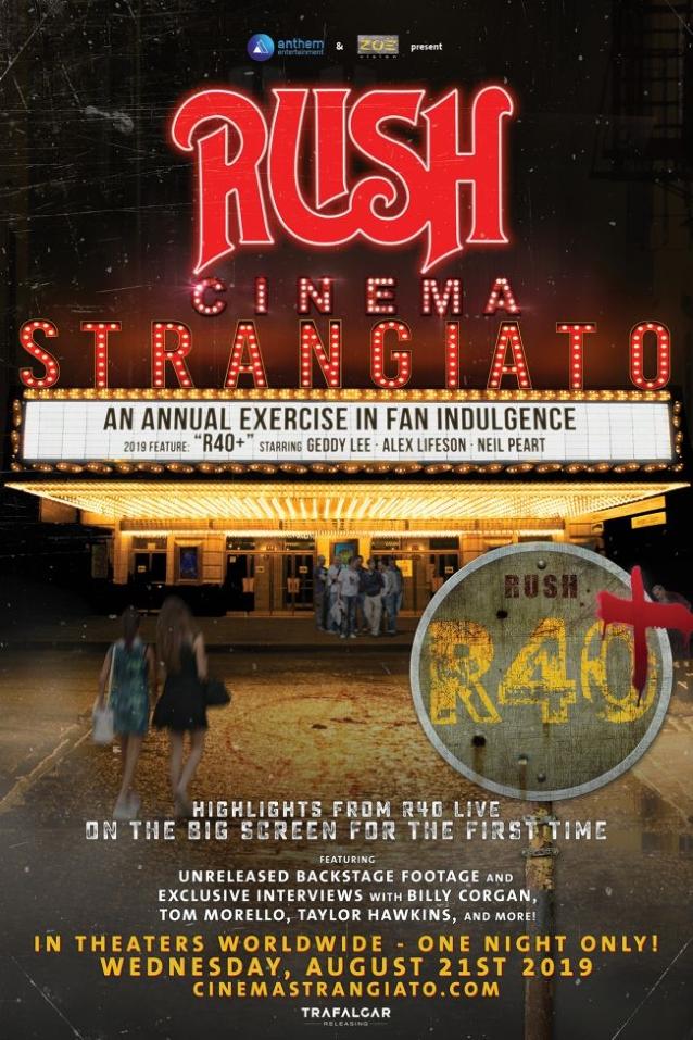 RUSH: New Trailer For 'Cinema Strangiato' Film