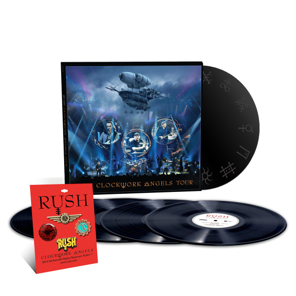 RUSH To Release 'Clockwork Angels Tour' 5LP Set In October