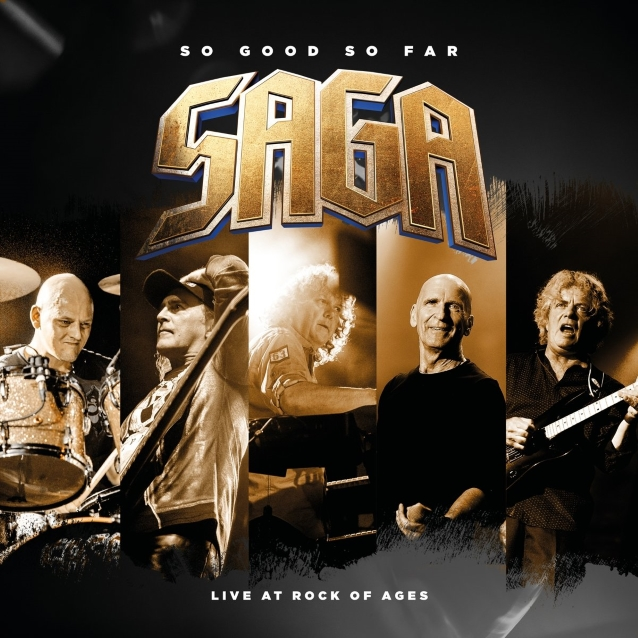 SAGA To Release New Live Album 'So Good So Far - Live At Rock Of Ages'
