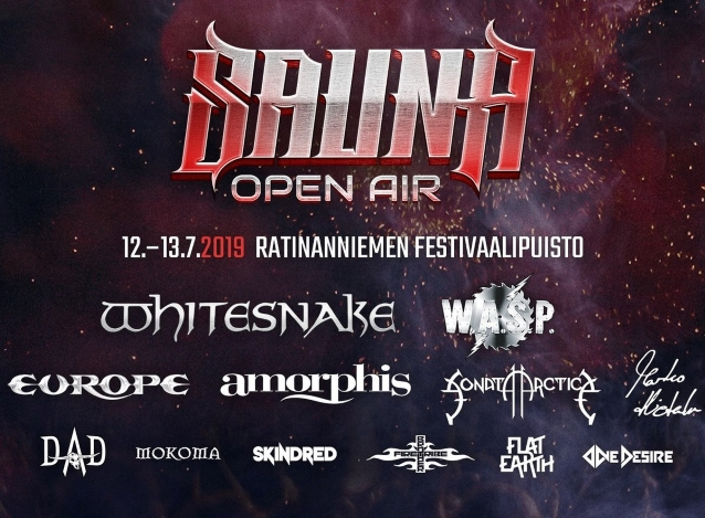 Watch WHITESNAKE Perform At Finland's SAUNA OPEN AIR