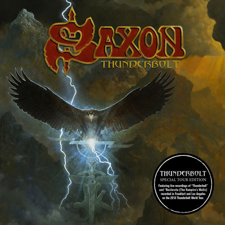 SAXON: Special Tour Edition Of 'Thunderbolt' To Be Released In September