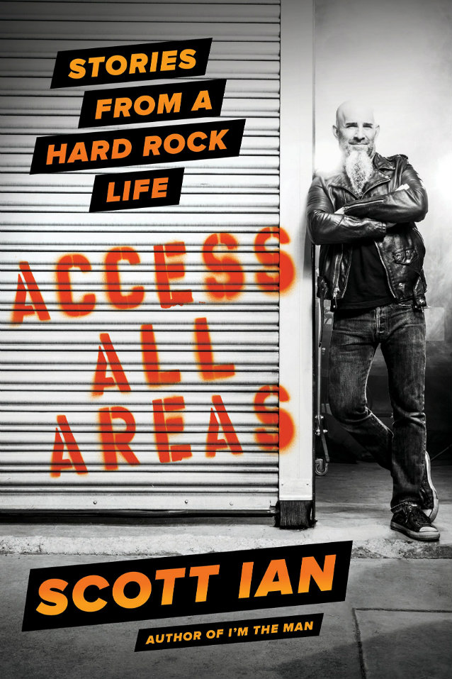 ANTHRAX Guitarist To Release 'Access All Areas: Stories From A Hard Rock Life' Book In December