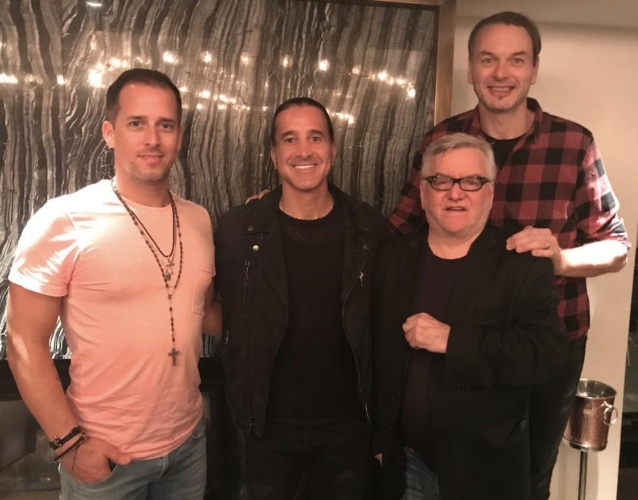 CREED Singer SCOTT STAPP Signs With NAPALM RECORDS