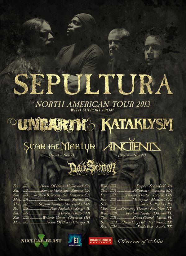 Sepultura - Tsunami of Metal Tour