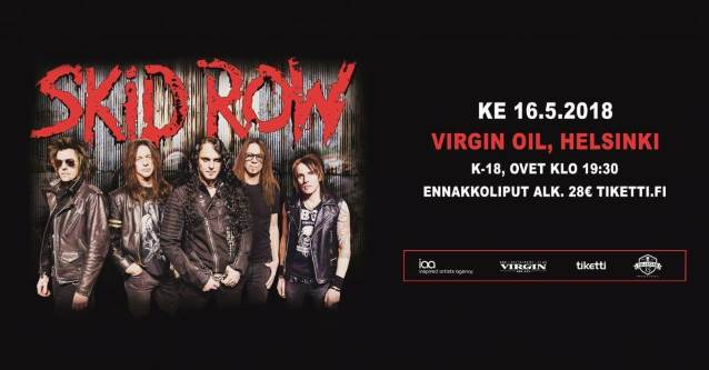 Video: SKID ROW Performs In Helsinki