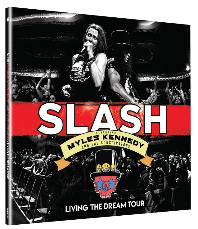 SLASH FEATURING MYLES KENNEDY AND THE CONSPIRATORS To Release 'Living The Dream Tour' DVD, Blu-Ray In September