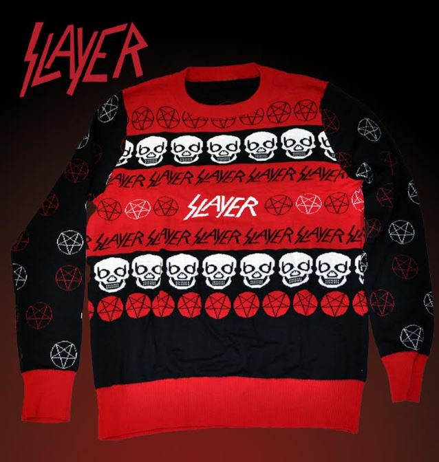 Slayer 'Ugly Christmas Sweater' Tradition Continues - Blabbermouth.net