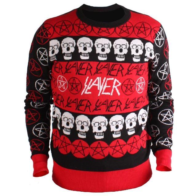 Slayer ugly christmas sweater