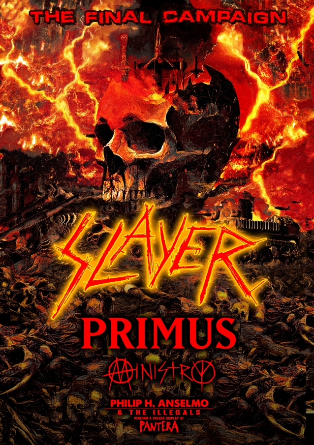SLAYER Adds Second Los Angeles Show At The Forum; BLABBERMOUTH.NET Presale Available