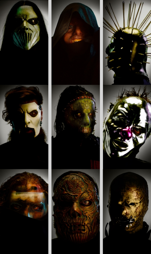 Here Is A Closer Look At Slipknot's New Masks - Blabbermouth net