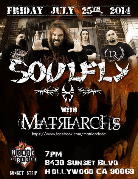 soulflyhobsunset2014poster