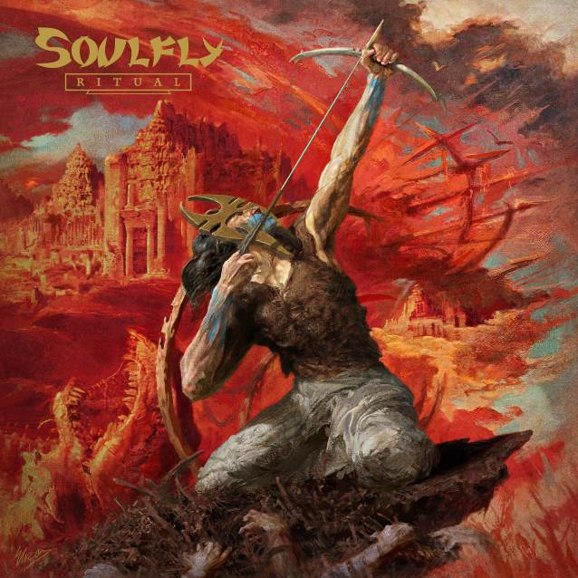 SOULFLY - Ritual (19 octobre 2018) Soulflyritualcdcover