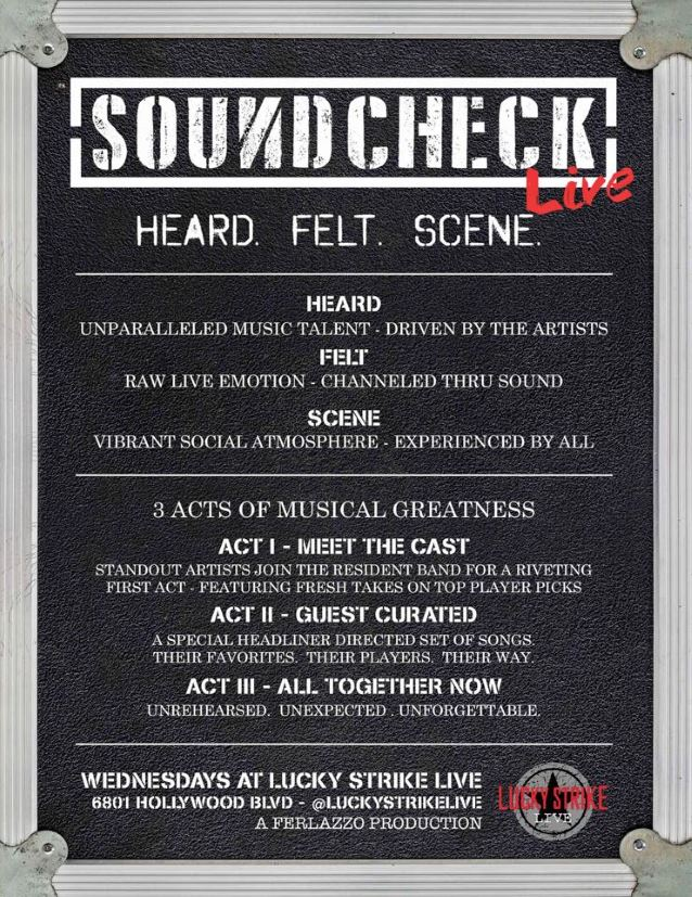 soundcheckliveopeningposter