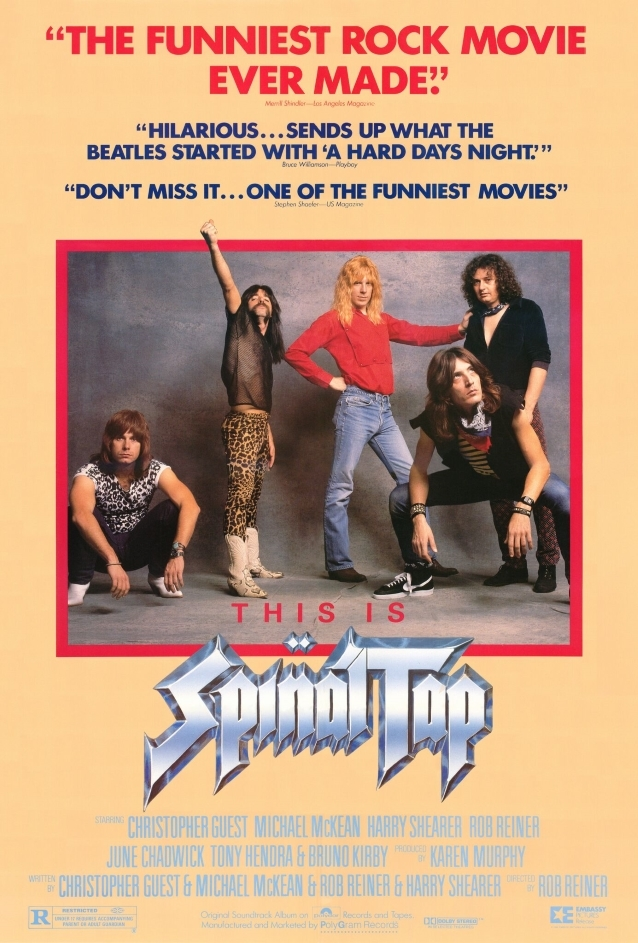 SPINAL TAP To Reunite For 35th-Anniversary Screening Of Groundbreaking Rock Mockumentary