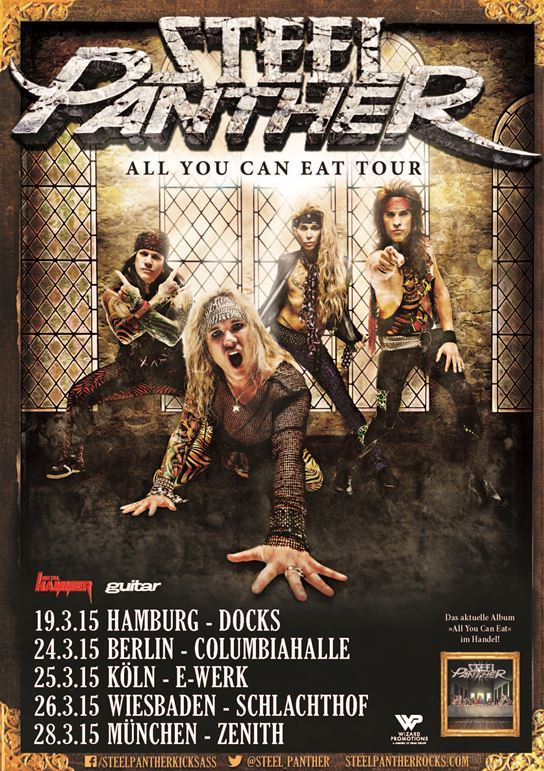 steelpanthergermany2015poster