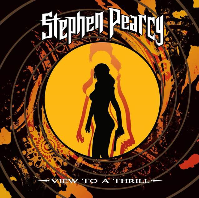 RATT Singer STEPHEN PEARCY To Release 'View To A Thrill' Solo Album In November; Track Listing, Artwork