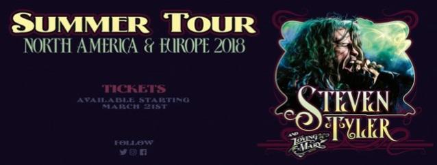 STEVEN TYLER Announces North American, European Tour Dates