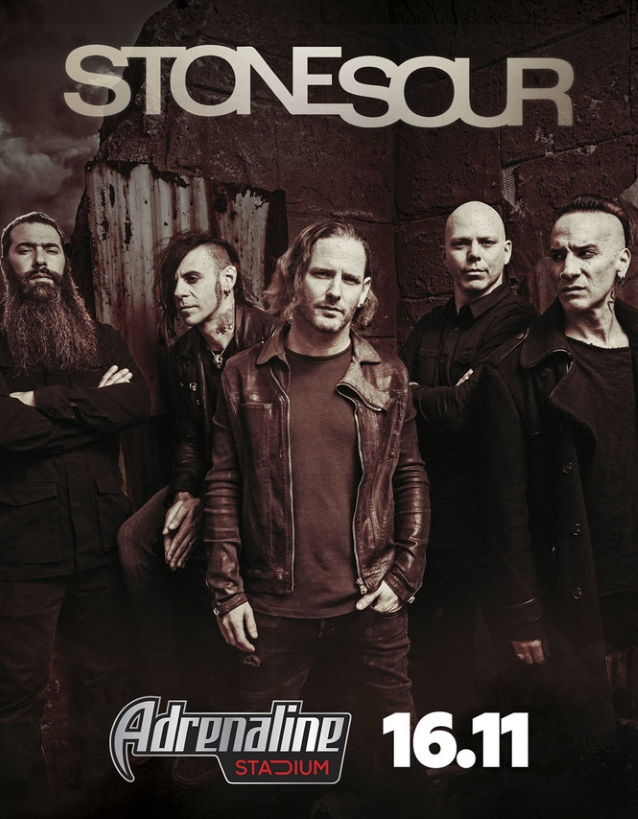 Watch Stone Sour's Entire Moscow Concert