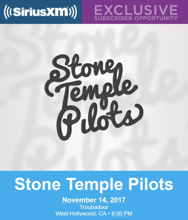 Stone Temple Pilots To Return To Live Stage At Invitation Only