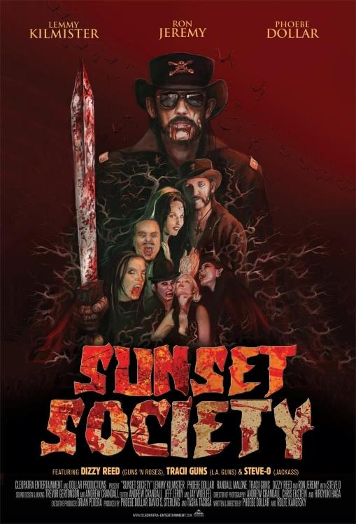 Lemmy, Tracii Guns, Dizzy Reed Featured In 'Sunset Society' Movie