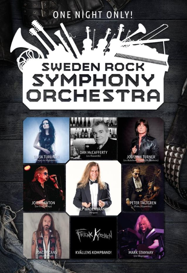 Former And Current Members Of NIGHTWISH, RAINBOW, URIAH HEEP To Perform Hard Rock Classics With Sweden Symphony Orchestra