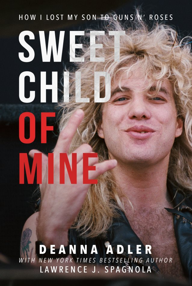 Tell-All Book From STEVEN ADLER's Mother To Finally See Light Of Day This Month