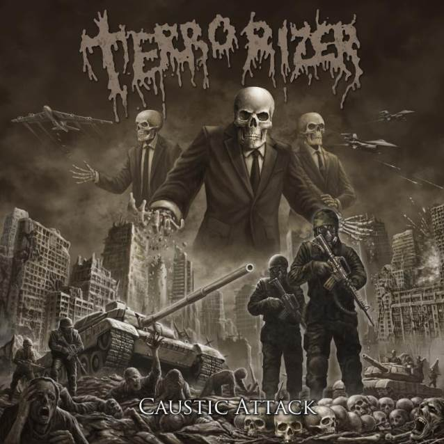 TERRORIZER To Release 'Caustic Attack' Album In The Fall