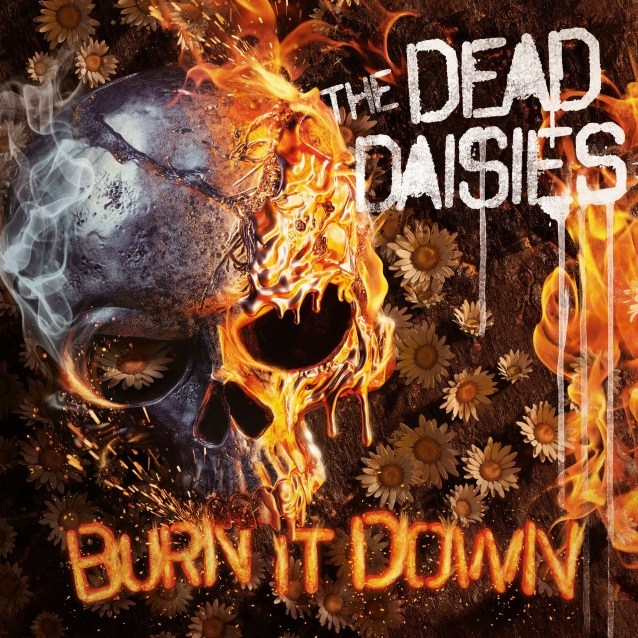 THE DEAD DAISIES - Burn It Down (6 avril 2018) Thedeaddaisiesburnitdowncd