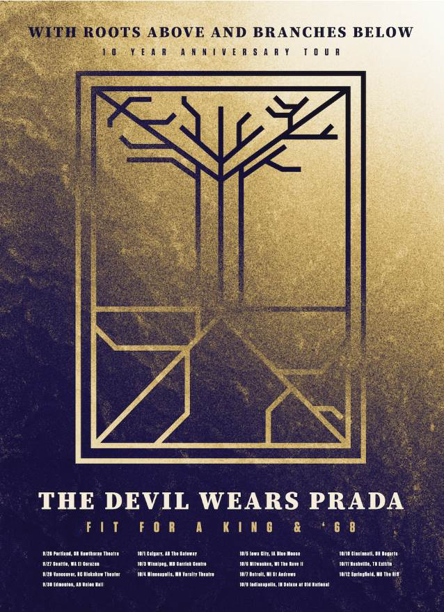 The Devil Wears Prada Announces With Roots Above And Branches Below