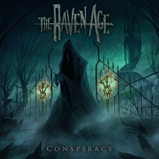 THE RAVEN AGE Feat. IRON MAIDEN Bassist's Son GEORGE HARRIS: 'Fleur De Lis' Lyric Video