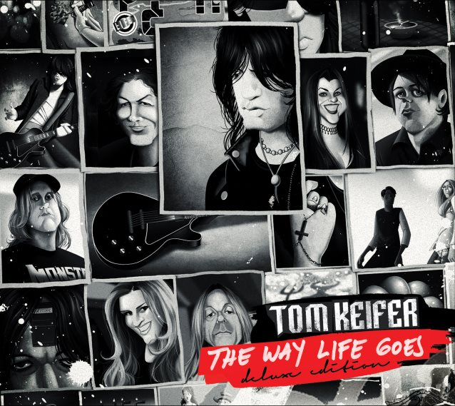the way life goes For guitarist tom keifer, the way life goes is an appropriate title for his first solo album the cinderella frontman has had to endure many personal and emotional struggles over the years, including being diagnosed with a partially paralyzed vocal cord and being told he'd likely never sing again.