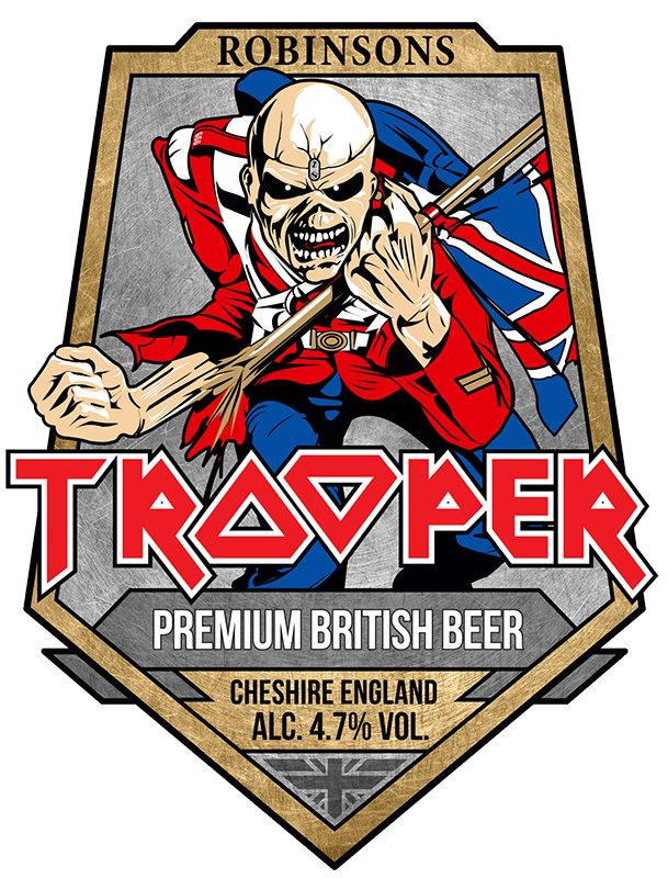 Iron Maiden And Robinsons Brewery Unveil New Look For
