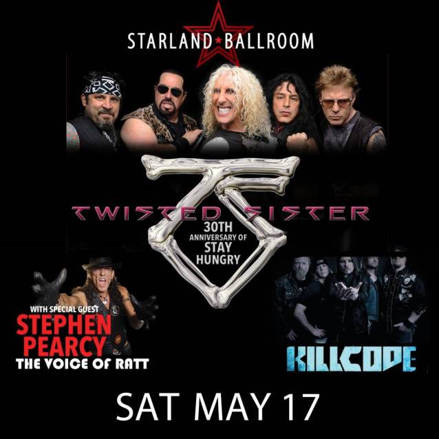 twistedsisterstarland30thanniversarymay2014poster