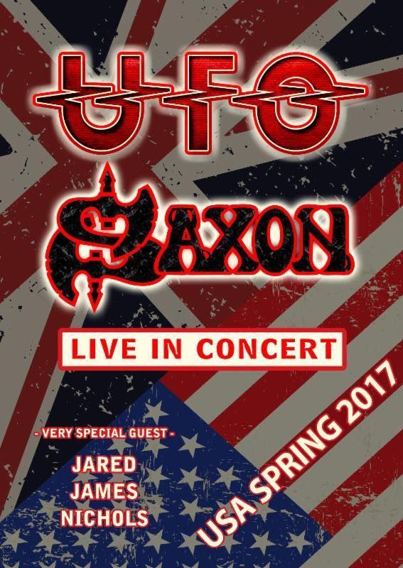 Ufo Announces U.S. Tour With Saxon