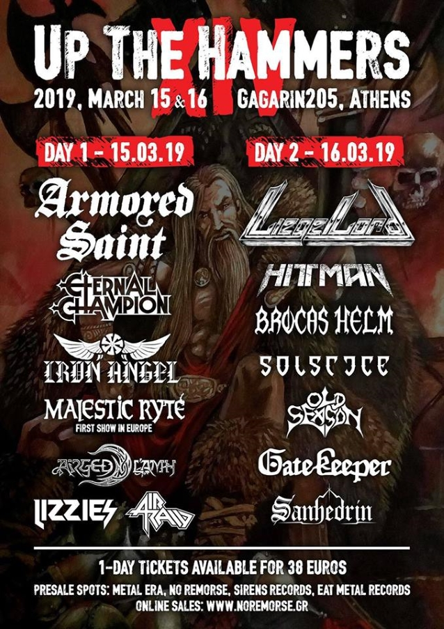 ARMORED SAINT Performs In Athens, Greece (Video)