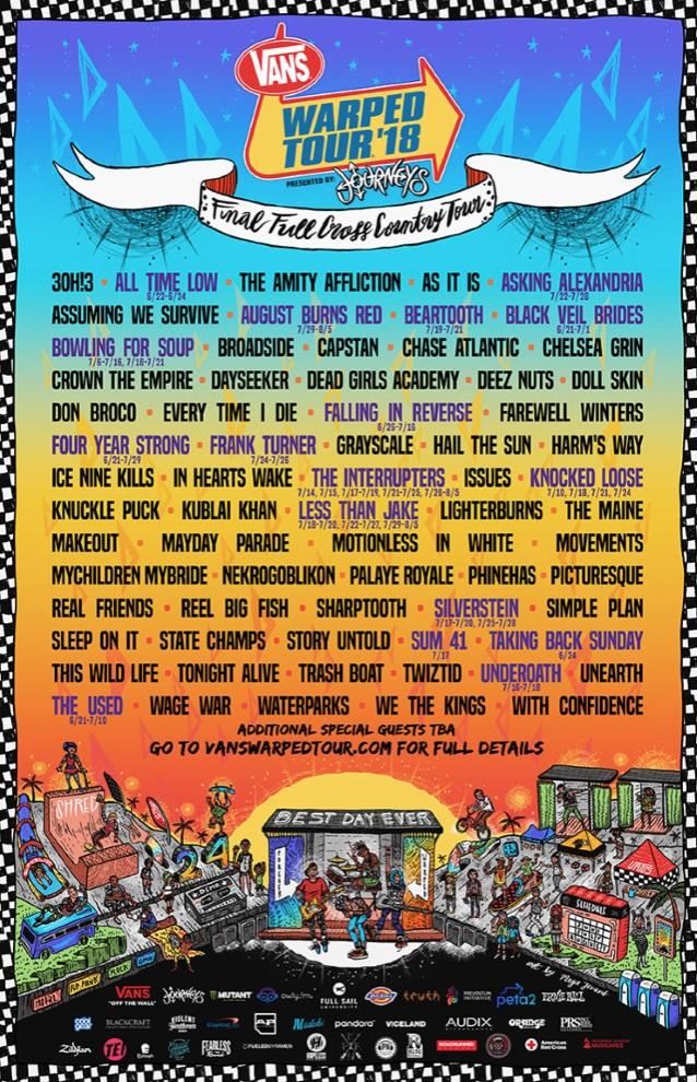 Vans Warped Tour Dates