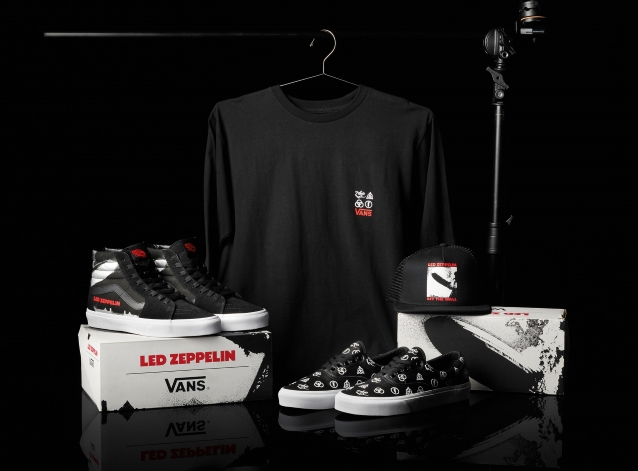 Led Zeppelin + Vans: Details Of New Shoe Collection Revealed