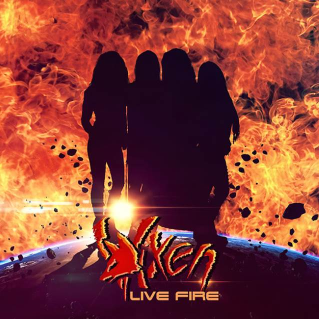 VIXEN's 'Live Fire' Due In July
