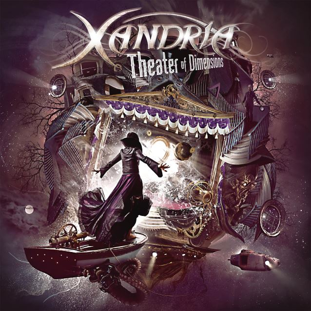 Image result for Xandria: Theater of Dimensions album art